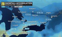 6-12cm大雪今晚降临渥太华,未来一周持续零下20度酷寒!
