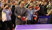 为了这项全国体育赛事 全总副主席蔡振华再拿球拍