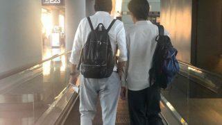 都叫Tony Leung!梁朝伟梁家辉机场巧遇拍合照