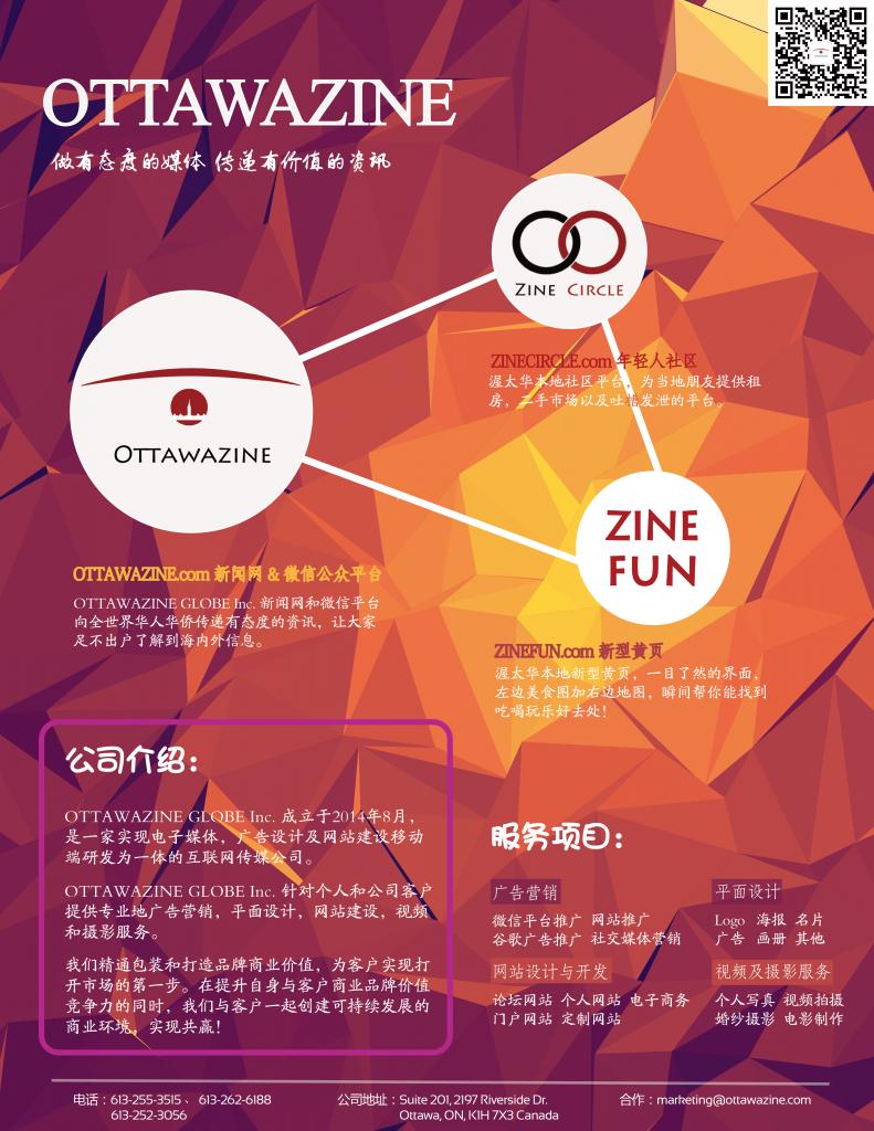 OTTAWAZINE flyer