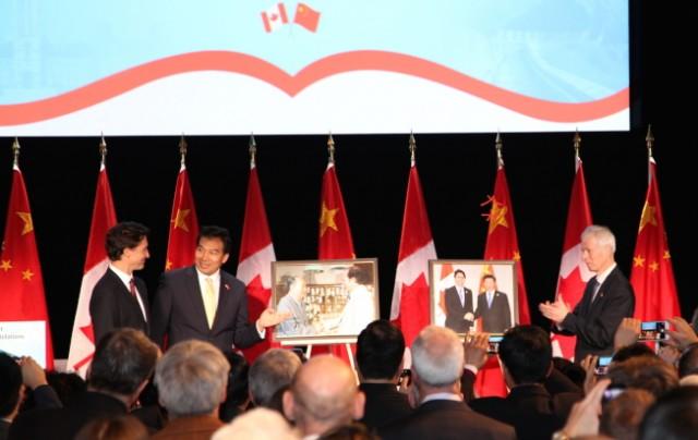 中加建交45年 总理杜鲁多盼再访中国