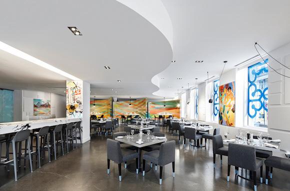 加拿大最街头的高级餐厅 从里到外全是涂鸦