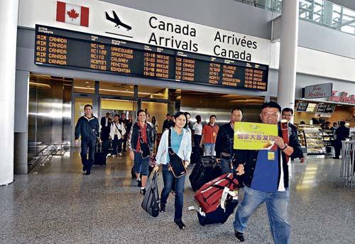 与中国自由贸易 加拿大的金蛋