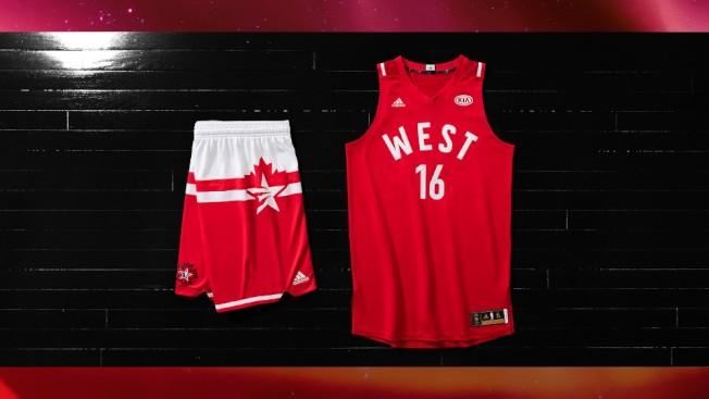 NBA明星赛球衣充满加拿大元素