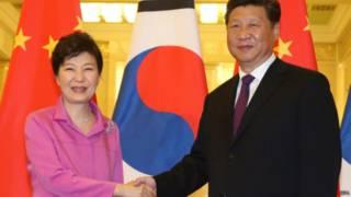 朴槿惠与习近平通话吁中方协助制裁朝鲜