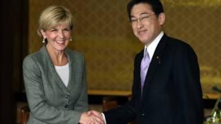 澳大利亚外长访日两国潜艇交易受瞩