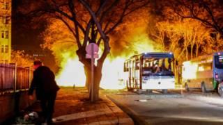 土耳其首都遭炸弹袭击28死逾60伤