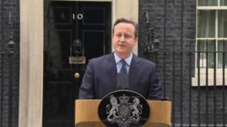 卡梅伦宣布英国6月23日举行欧盟公投
