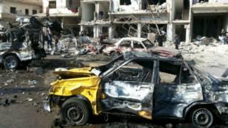 叙利亚发生系列炸弹攻击至少140人死亡