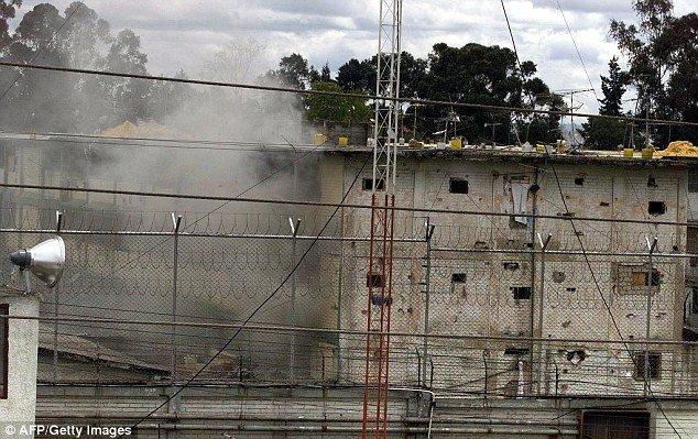 细思恐极!哥伦比亚监狱排水管现100余碎尸