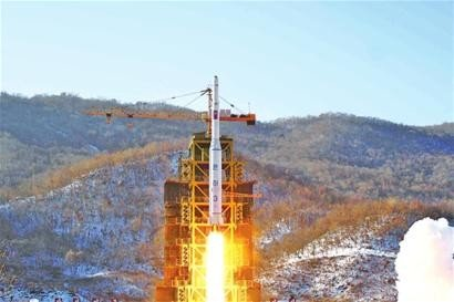 """朝鲜宣布成功发射""""光明星4号""""卫星"""