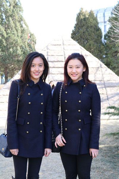 北电艺考美女云集 双胞胎源晴源冰成焦点