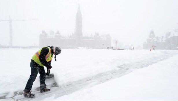 渥太华暴雪