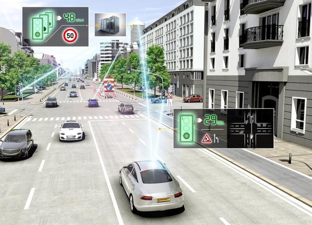 大陆集团推智能地图 亮点是提高汽车燃油效率