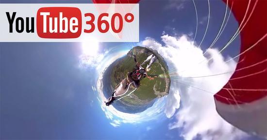 传YouTube正开发360度直播视频