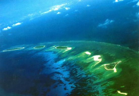 中国计划西沙七连屿填海造陆 面积扩大十倍