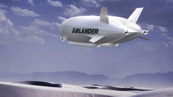 全球最大飞行器即将试飞 身长堪比足球场(图)