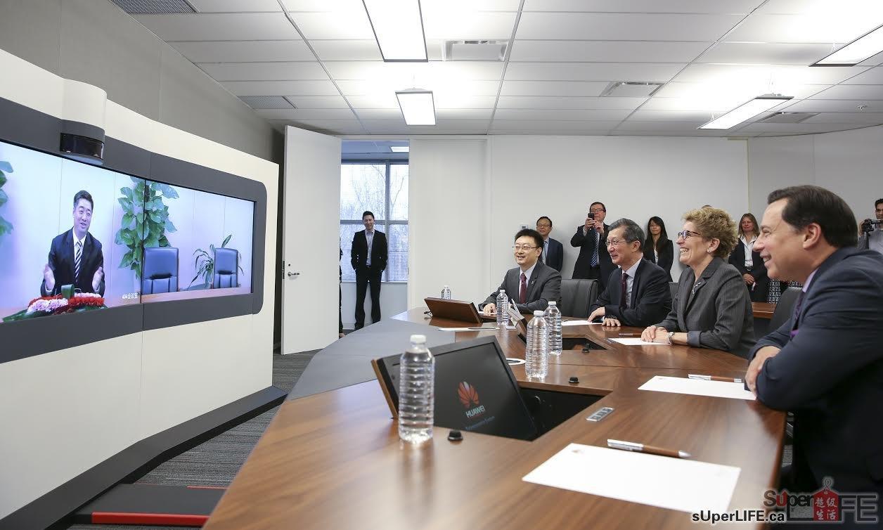 华为获加拿大安省1千6白万投资 开发5G技术