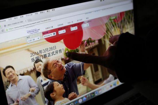 上海迪士尼乐园开幕首日票遭秒杀 官网疑出故障