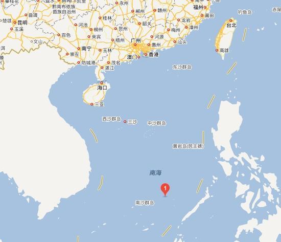 故伎重演?菲律宾运输船五方礁搁浅 中国军舰封锁