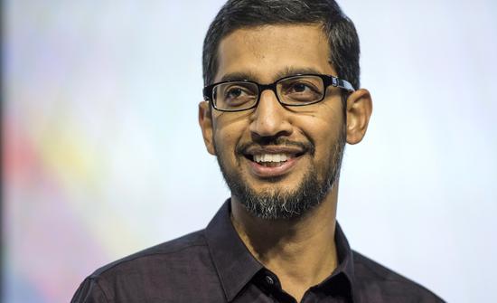 谷歌CEO皮猜上任第一年薪酬超1亿美元