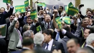 巴西国会弹劾委员会支持弹劾罗塞夫总统