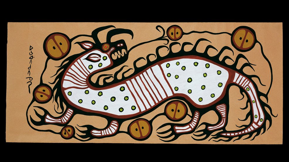 Norval-Morrisseau-Canadian-Museum-of-History