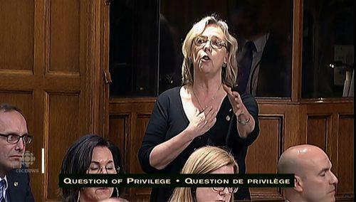 帅哥总理肘击女议员胸部 加拿大举国哗然!