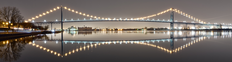 Ambassador Bridge Panoramic