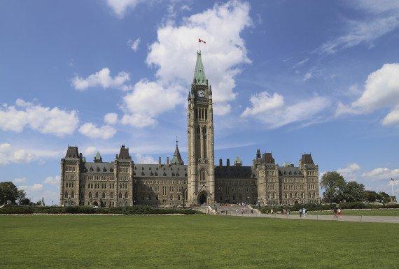 Parliament Hill, Peace Tower, Ottawa,