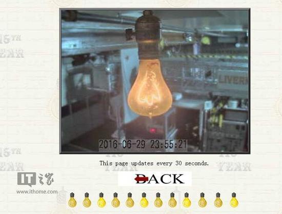 这枚灯泡已经亮了115年:还有网站直播它将何时熄灭