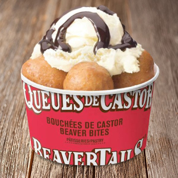 BeaverBites:可以一口吃掉的BeaverTails,搭配Gelato或Frozen yogurt,冰火两重天~ 非常推荐!