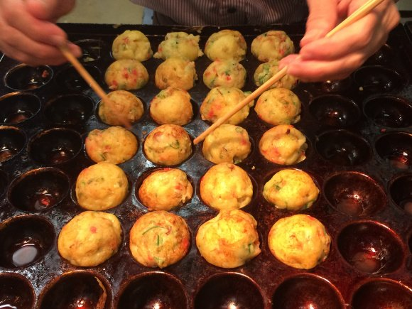 fresh-made-takoyaki-balls