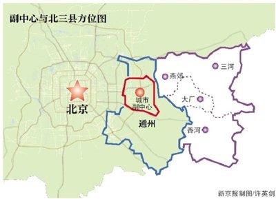 """北京辟谣""""副中心与北三县合并"""" 传言为何屡现?"""
