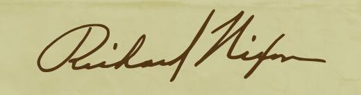 据说,这是特朗普的签名