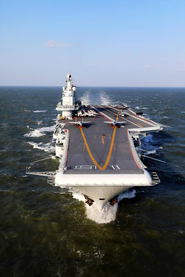 美中将妄称:中国军舰弱爆了,用湿纸袋就能困住