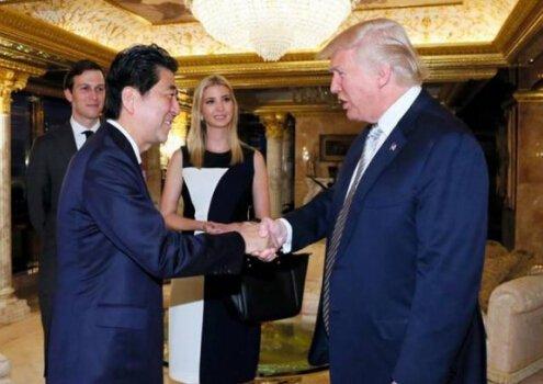 特朗普与安倍通电话:重申对日本安全的承诺 未谈TPP