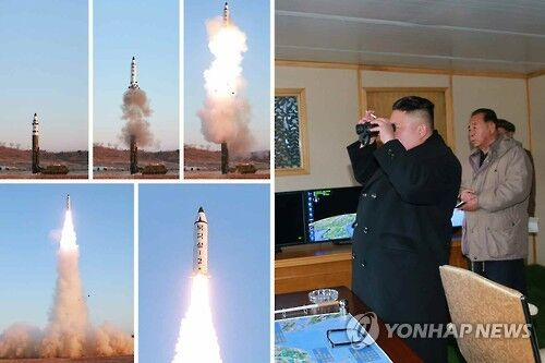 回应朝鲜发射导弹 韩媒称韩国正研究自射弹道导弹