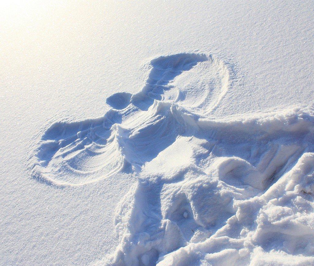 make-snow-angel