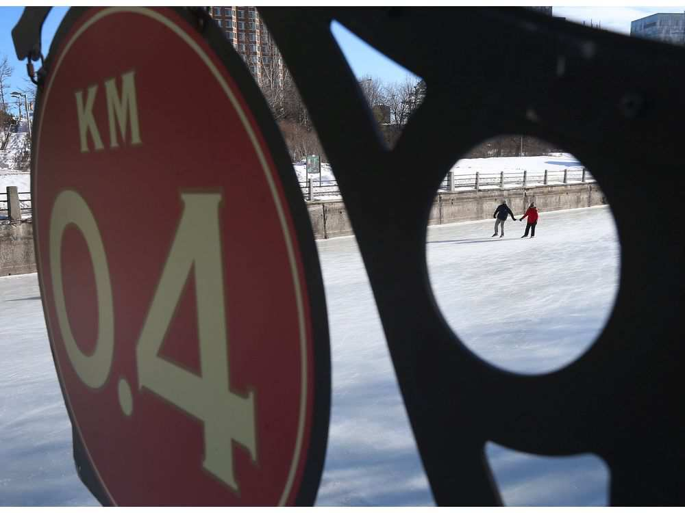 Winterlude kicked off in Ottawa Friday Feb 3, 2017. Skaters on the Rideau Canal took advantage of the perfect ice conditions Friday.