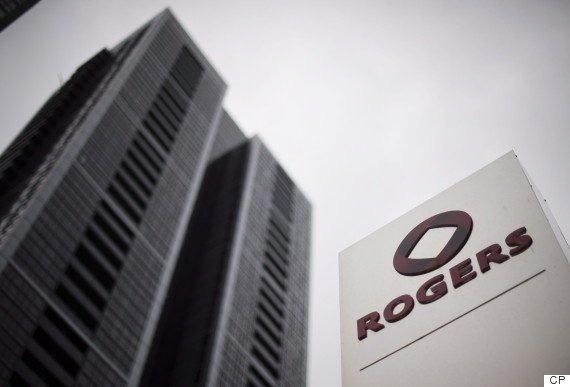 A Rogers Communications Inc. logo outside the Rogers Building in Toronto on Tuesday, April 22, 2014. THE CANADIAN PRESS/Darren Calabrese
