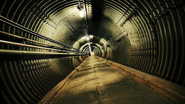 Blast-Tunnel