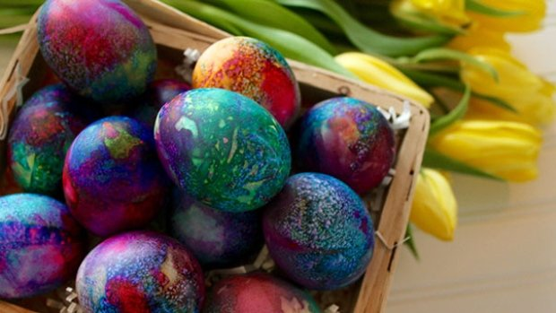 dyed-easter-eggs