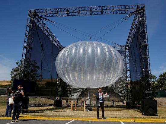谷歌拟用气球向波多黎各提供网络服务