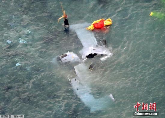 日媒:美军机或在日本冲绳县训练场内坠落