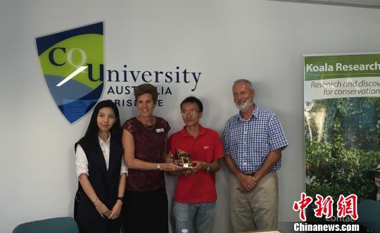 中国与澳大利亚启动树熊气候变化生态基因组学联合科研
