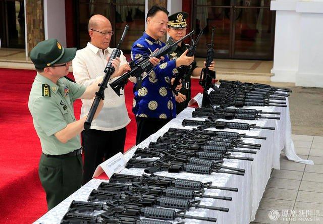 挂台湾防务部门标志 菲律宾向中国正式道歉!