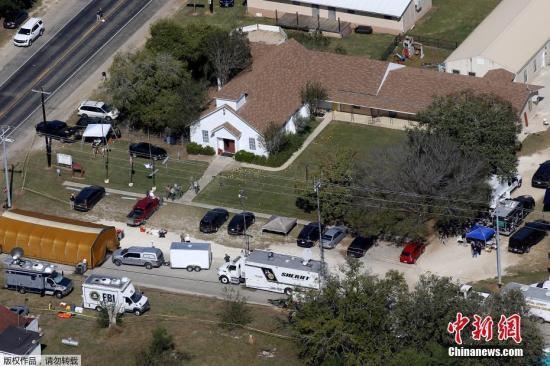 美得州枪击案凶犯曾逃出精神病院 恐吓上司