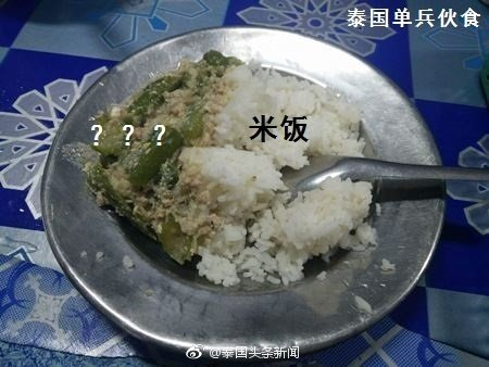 中俄日英澳各国军粮大对比 泰国军队吃的这是啥?