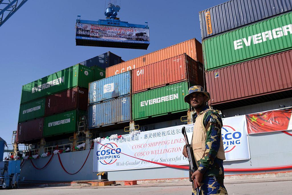 巴基斯坦部长称瓜达尔港91%利润归中国 引巴民众不满